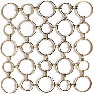 Decorative ring mesh
